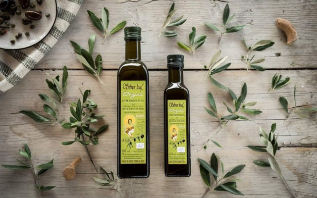 silver leaf organic extra virgin olive oil