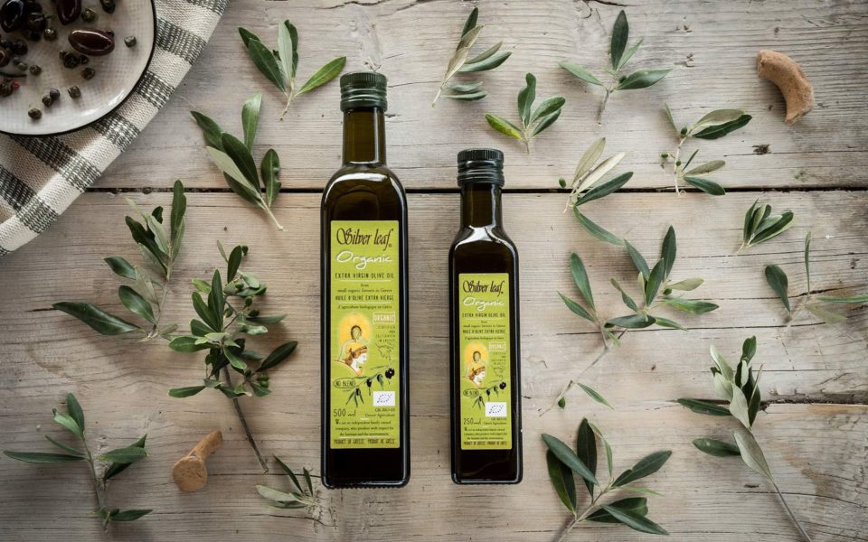 silver leaf organic extra virgin olive oil