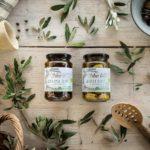 Organic Kalamon and Green Olives