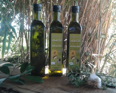 Herb Oil – Extra Virgin Olive Oil with herbs