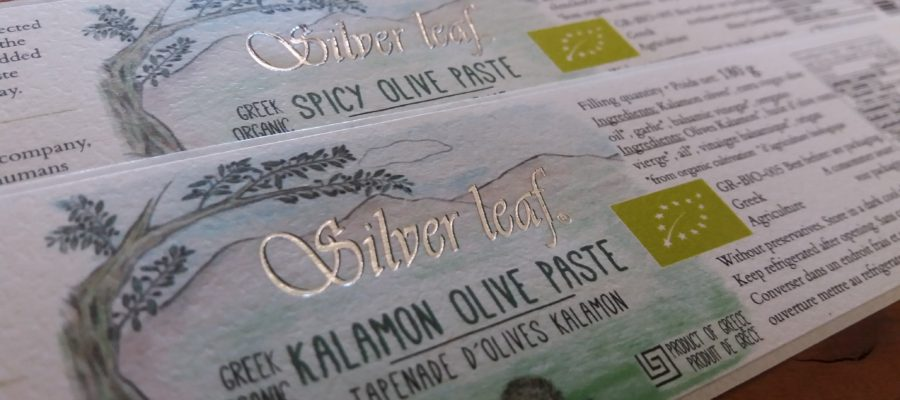 Silver leaf is celebrating it´s first labels with silver print