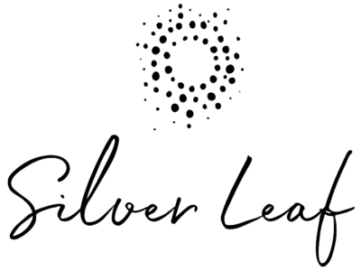 silver leaf BL logo clara without background