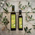 griechisch biologisches extra natives Olivenöl aus Bio Bauern