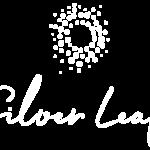 silver leaf logo clara without background