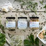 natürliches fleur de sel griechisches Meersalz